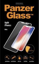 Apple iPhone X/XS - White (Premium Glass)