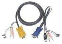 USB KVM-kabel 3.0Mtr.