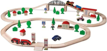 Train Set with Accessories 89 pcs