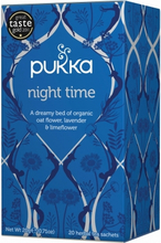 Pukka Night Time Tea Luomu 20 pussia