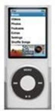 Griffin Wave With EasyDock For iPod Nano 4G - Black