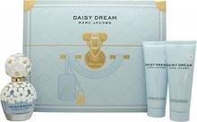 Marc Jacobs Daisy Dream Lahjasetti 50ml EDT + 75ml Vartalovoide + 75ml Suihkugeeli