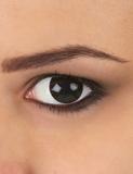 Helsvarta ögon - Maskeradlinser One-size