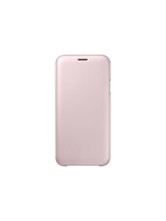 Galaxy J7 (2016) Wallet Cover- Pink