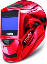 Telwin Vantage XL MMA-Mig/Mag-Tig Svetshjälm röd