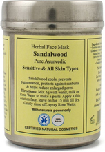 Herbal Face Mask Sandalwood, 50 g