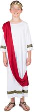 Kostume romersk kejser til drenge - 115-128cm (4-6 år)