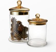 Förvaringsburk i glas, 22,5 cm