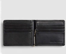 Leather Money Clip Wallet, ONE SIZE