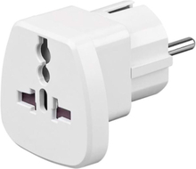 Travel adapter to CEE7/7 - White