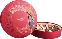 Cachet Round Box Red