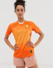 Nike Football Holland World Cup home Stadium Jersey-Orange