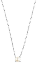 Petite pearl necklace, ONE SIZE