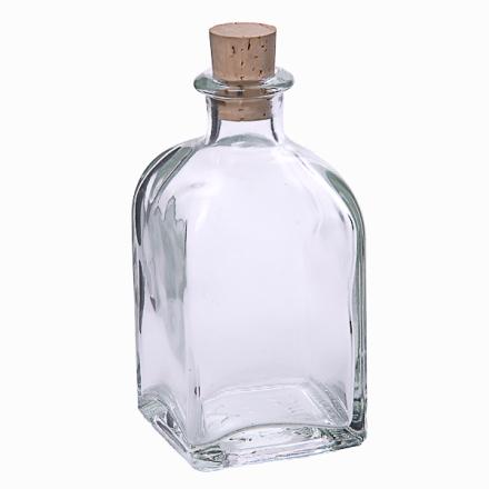 Fyrkantig flaska 100 ml