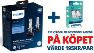 Philips LED-Konvertering X-tremeUltinon H7