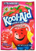 Kool Aid Lemonadepulver Jordbær 3stk 3-Pack - Uten tilsetningsstoffer!