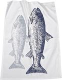 Kökshandduk fisk 2-pack