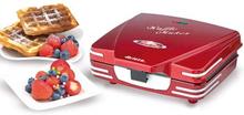 Ariete Vintage / Waffle maker / Röd