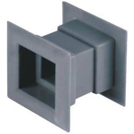 4stk Mini Square luft aftræk døren gitter interne Ventilation dække...