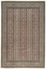 Tabriz 50 Raj med silke matta 200x303 Persisk Matta