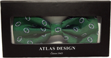 Atlas design - green saturn fluga med presentbox