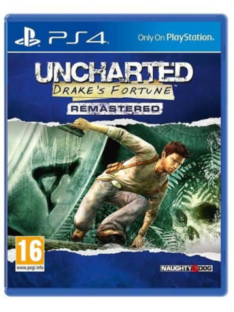 Uncharted: Drake's Fortune - PlayStation 4 - Toiminta