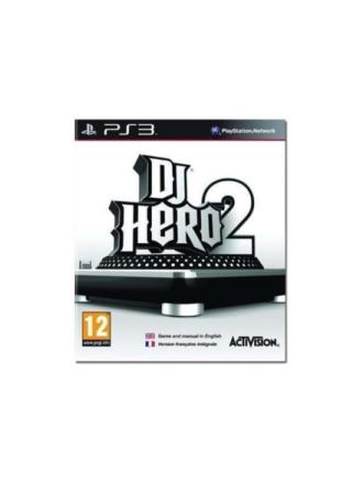 DJ Hero 2 Solus - Sony PlayStation 3 - arkadi