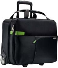 Laukku 2-pyörällä Carry-on musta