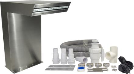 Ubbink Vattenfall LED Straight silver 7504636