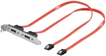 eSATA slot plate - 2 ports