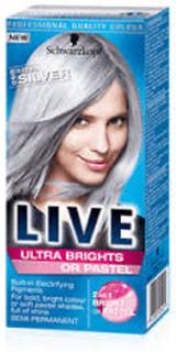 Schwarzkopf Schwarzkopf Live Ultra Brights eller Pastel - stål sølv...