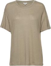 Mikki T-shirt Top Beige MbyM