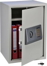 HI sikkerhedsskab med elektrisk lås 35 x 36 x 52 cm beige