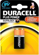 Duracell Plus MN1604 1 kpl