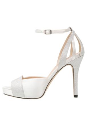 Menbur PATRICIA Sandaler med høye hæler ivory