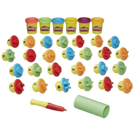 Play Doh - Letters and Languages (B3407)