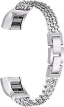 Fitbit Alta Klokkearmbånd laget av rustfritt stål - Sølv