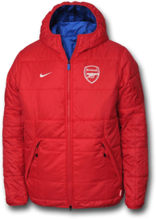 Arsenal vinterjacka vändbar