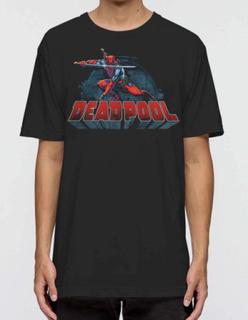 T-Shirt Deadpool - Stance