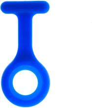Enfärgat skal till silikonklocka (Blå)