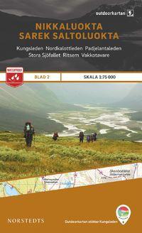 Norstedts Ark 2 Nikkaluokta-Sarek-Saltoluokta 1:75 000