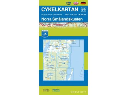 Norstedts Sykkelkart Ark 16 Nordre Smålandskysten