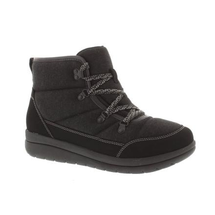 Clarks Cabrini Cove - svart (tekstil) kvinners støvler 6 UK