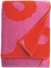Unikko pyyhe punainen roosa kylpypyyhe