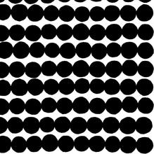 Räsymatto kangas musta-valkoinen
