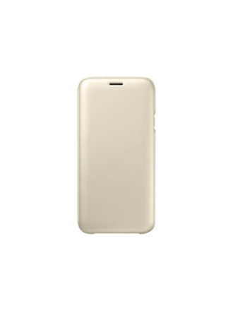 Galaxy J7 (2016) Wallet Cover - Gold