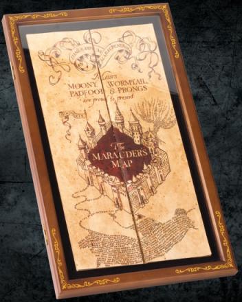 Harry Potter - Marauder's Map Display Case
