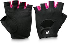 Better Bodies Womens Training Glove, black/pink, large Handskar dam