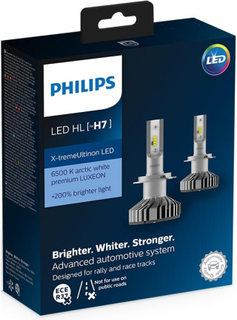 Philips H7 X-TREMEULTINON PREMIUM LED 2PAK