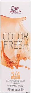 Wella Color Fresh pH 6.5 5/4 Light Red Brown